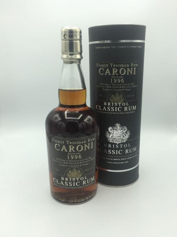 Bristol Classic Finest Trinidad Rum Caroni 1996 - 18 Jahre