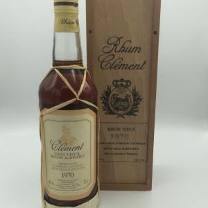 Clement Rhum Tres Vieux Vintage 1970
