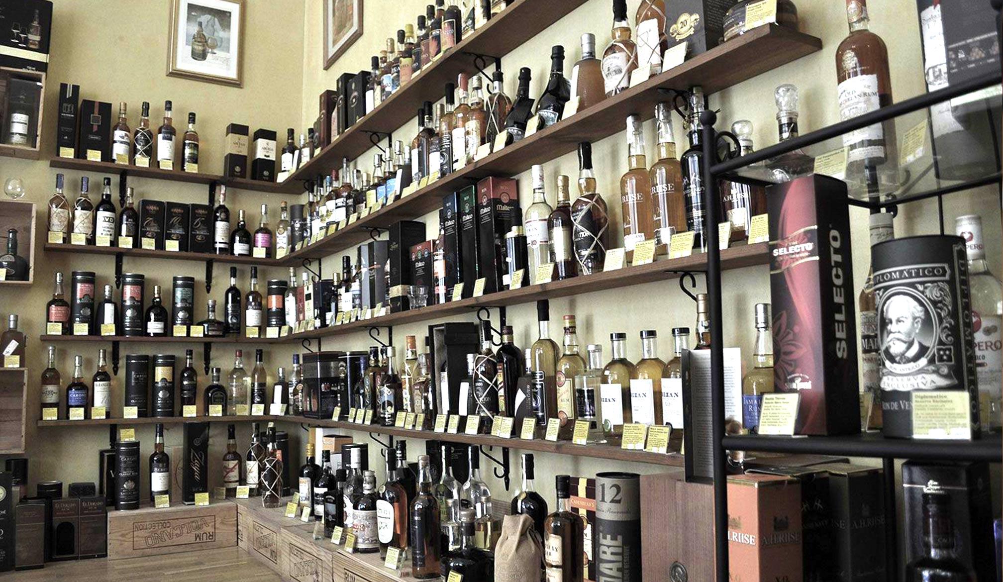 Unsere Spirituosen Produkt Kategorien