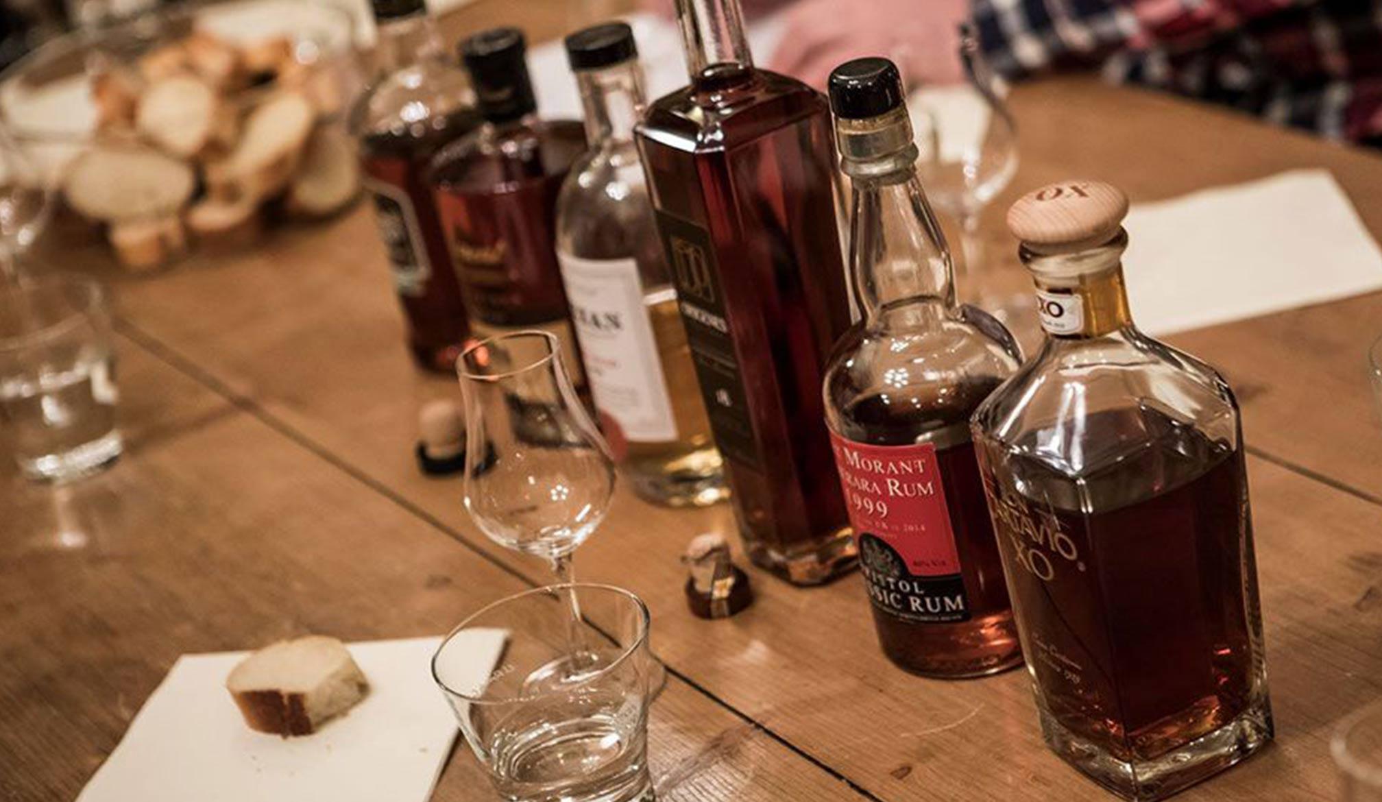 Rum Verkostung – Rum Tasting